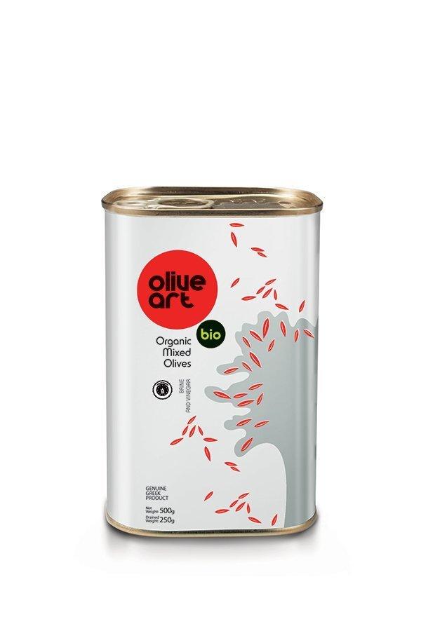 OLIVE ART Organic Mixed Olives