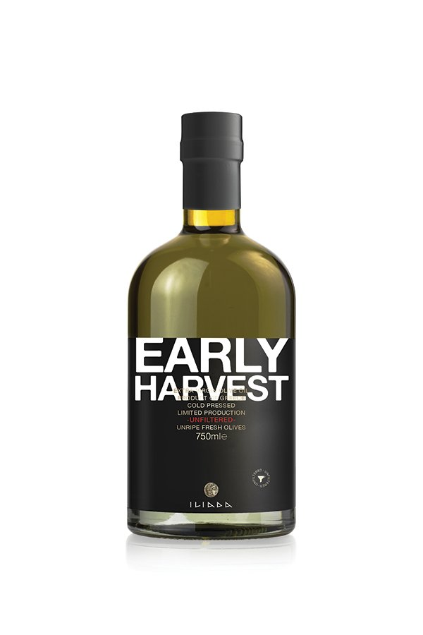 ILIADA Early Harvest Extra Virgin Olive Oil Unfiltered