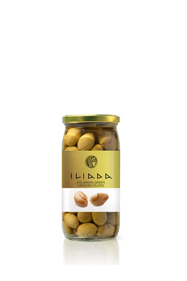 ILIADA Kalamata Olives Cracked