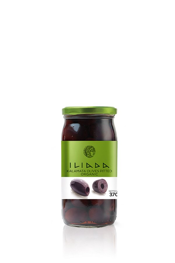 ILIADA Emerald Organic Kalamata Olives Pitted