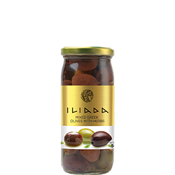 ILIADA Mixed Olives with Herbs