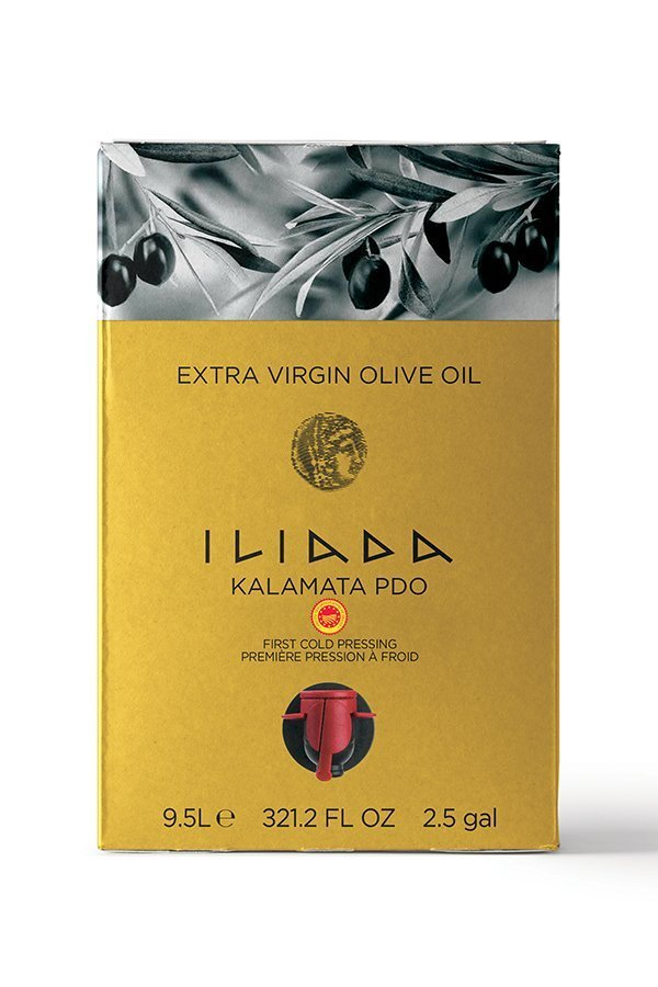 ILIADA Extra Virgin Olive Oil Kalamata PDO Bag In Box