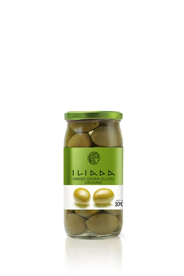 ILIADA Emerald Organic Green Olives