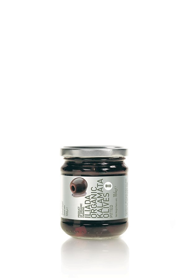 ILIADA Platinum Organic Kalamata Olives Pitted