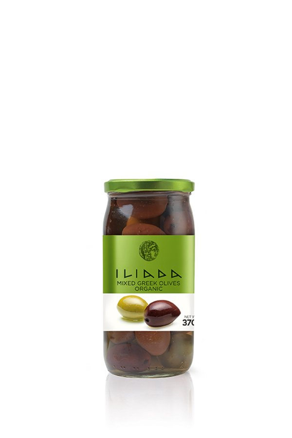 ILIADA Emerald Organic Mixed Olives