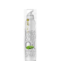 ILIADA Extra Virgin Olive Oil Spray with Basil flavor