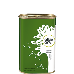 OLIVE ART Green Olives