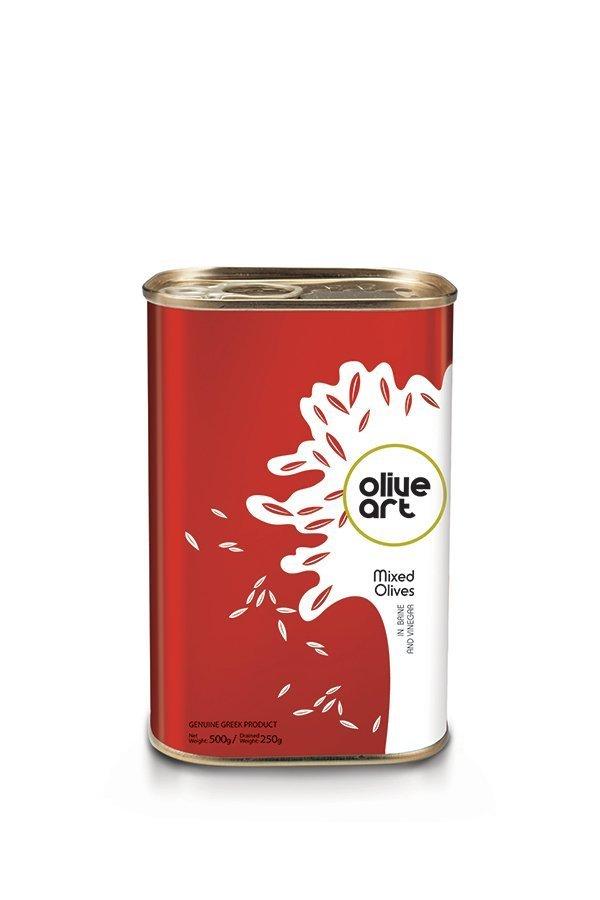OLIVE ART Mixed Olives