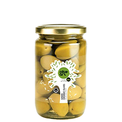 OLIVE ART Organic Green Olives