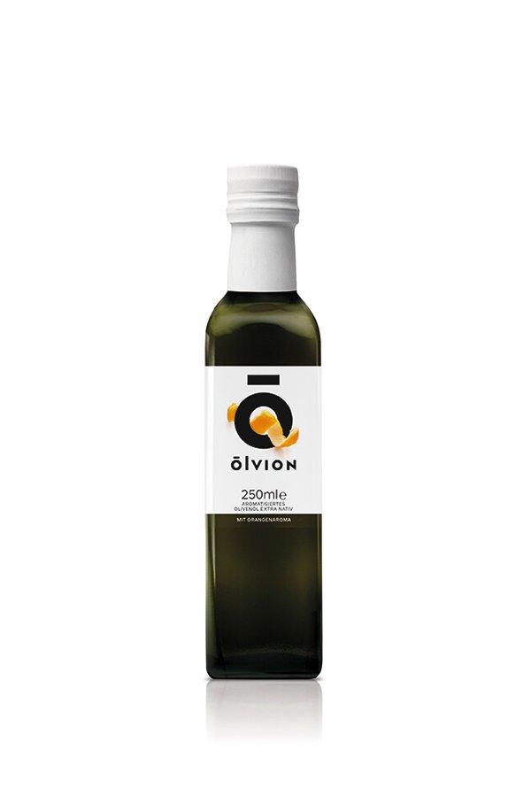 OLVION Condiment of EXVOO with Orange flavor