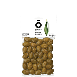 OLVION Green Olives