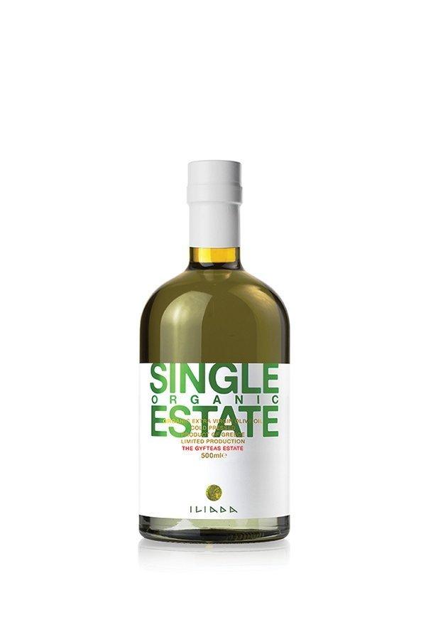 ILIADA Single Estate Organic EVOO Gyfteas